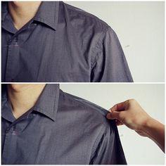 Fix sloping shoulders