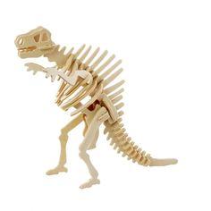 DIY Wooden Puzzle - Dinosaur (choose 1 of 3d Puzzles, Wooden Puzzles, Wooden Jigsaw, Spinosaurus, T Rex, Beautiful Models, 3 D, Cool Stuff, Crafts