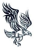 Wings. Bird of prey. Eagle.