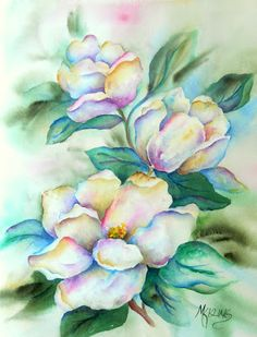 Southern Magnolias by Martha Kisling Fine Art