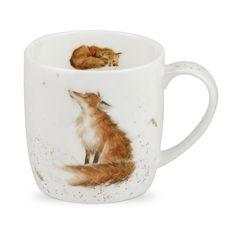 Wrendale von Royal Worcester Die Künstlerische Poacher Fox Single Tasse: AmazonSmile: Küche & Haushalt