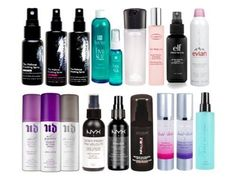 This is not a necessary step, but if your makeup doesn't look like it's still there at the end of the day, these can help. Just spritz *before* you apply mascara, so your mascara doesn't run. Read more about different types of setting spray here.