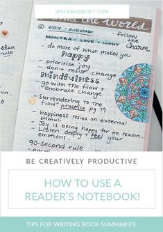 Keeping a reader's notebook has completely changed the way I engage with and learn from books. In this article, I share how I keep all of my notes, quotes, and inspiration from reading, organised in one place! #readersnotebook #creativelyproductive #techchef4u #bulletjournal #bulletjournaling #creativejournaling #readinglog #notetaking #studentnotebook #studyskills #booksummarynotebook #readingnotebook #readingtracker #learning #productivity #studynotes #bookstoread #booklog Readers Notebook, Bullet Journal Inspiration, Journal Ideas, Lisa Johnson, Highlighter Pen, Moleskine Notebook, Journal Template, Cool Books, Good Notes