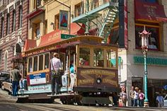 Riding a Cable Car is One of the Things to Do in San Francisco - ©2006 Betsy Malloy Photography