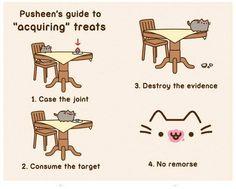 Pusheen's Guide to 'Acquiring' Treats