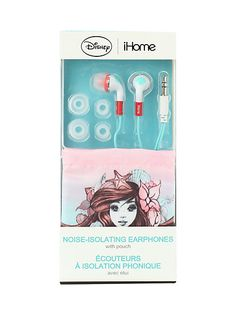 Disney iHome The Little Mermaid Ariel Noise-Isolating Earbuds   Hot Topic