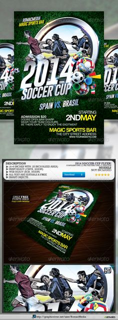 SOCCER TOURNAMENT FLYER DESIGN Design Pinterest Flyer - soccer flyer template
