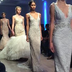 Sparkle galore! Gowns by Lazaro