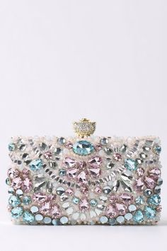 5f82ddb47f Accessorize Katrina Floral Foldover Clutch Bag ($59) ❤ liked on ...