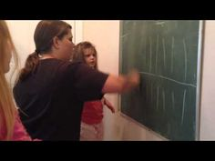 Isabella 16- Trying to teach Severely Autistic Child to write. - YouTube