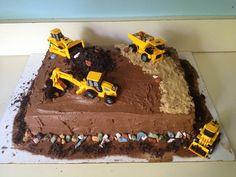 Digger cake for Declan:)