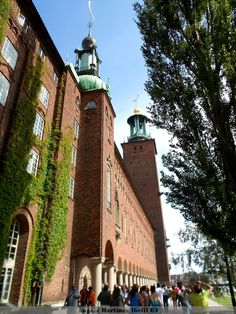 Ayuntamiento Estocolmo (Suecia)-   lugar de Celebracion de los Nobel