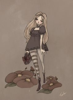 Alice in somber land by *Earther323 on deviantART