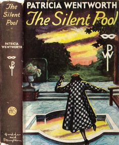 Hodder and Stoughton first edition hardcover The twenty-fifth Miss Silver mystery. Pulp Fiction Book, Crime Fiction, Fiction Novels, Best Mysteries, Cozy Mysteries, Vintage Illustration Art, Vintage Book Covers, Mystery Novels, Detective