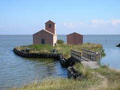 Valli di Comacchio, Po Delta Park, Italy | #VearHausing for your vacation in Lidi Ferraresi www.vear.it