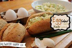 Egg salad sub