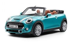 The new generation Mini Convertible (Cabrio) model year ready for series production and is the world market. The official premiere of the open version of the Mini Convertible , the new third generation of the account is scheduled within Tokyo Motor Show . Mini Cooper Cabriolet, Mini Cabrio, Mini Cooper 2016, Mini Cooper Accessories, Mini Driver, Mini Cooper Convertible, Tokyo Motor Show, Car Goals, Cute Cars