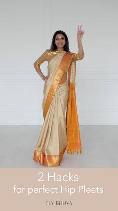 Half Saree Designs, Saree Blouse Designs, Lehenga Saree Design, Blouse Patterns, Dress Indian Style, Indian Fashion Dresses, Indian Fashion Trends, Indian Wear, Saree Wearing Styles