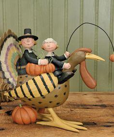 Look at this #zulilyfind! Pilgrim's Parade Figurine by Williraye Studio #zulilyfinds