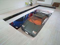 car elevator in home x_X