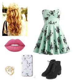 """""""City night out"""" by nicolekt on Polyvore featuring Lime Crime and Topshop"""
