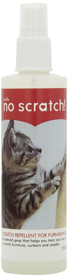 No Scratch Petlife Cat Scratch Repellent, 150 Ml ** Check this awesome image  : Cat scratcher