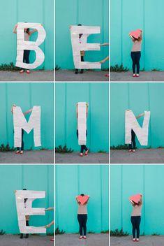 Giant Letter Valentine