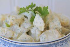 Recept på krämig potatissallad
