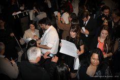 """Fin del Acto Académico de Colación de Grado de la modalidad a distancia de la Universidad Nacional de Quilmes -  Salón Auditorio """"Nicolás Casullo"""" -"""