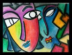 """Untangling dreams"" abstract softpastel art"