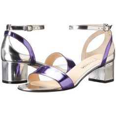 Aquatalia by Marvin K. Classy (Purple/Silver Combo) Women's Sandals