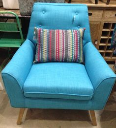 second option for blue chair