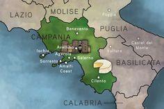 Leather Keyring Engraved Campania Region Italy Flag