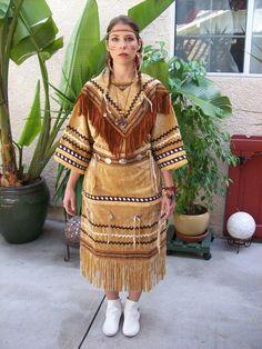 Native American Indian Halloween Costume Native by AngelesMaurino