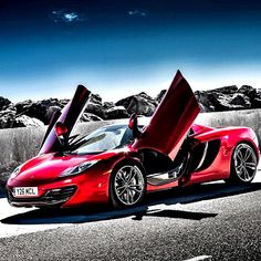 """""""Light shall shine out of darkness"""" McLaren MP4 12C"""