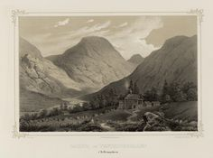 Norge fremstillet i Tegninger - Joachim Frich - Gausta og Vestfjorddalen i Tellemarken.  jpg (4936×3680)