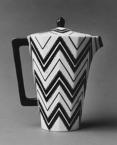 Cubism - coffee pot designed by Czech designer Pavel Janak (collection of the Met Museum here in NYC).