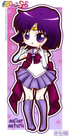 Sailor Saturn (#Hotaru Tomoe #Sailor Saturn #Mistress 9)