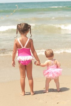 @Justina Vasiliauskaite we have a pic like this except we did not know what a bathing suit was lol