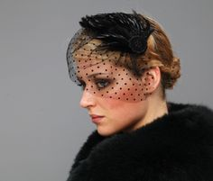 a headpiece full of elegance - a must have for the drama queen!
