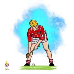 Joe Deane Joe Deane Joe Deane Jooeee Deeeeeane... - - - - #cork #gaa #hurling #sport #illustration #art #artwork #rebels #munstergaa #yellowbelly Home Sport, Sports Stars, Cork, Irish, Legends, Illustration Art, Passion, Wall, Artwork