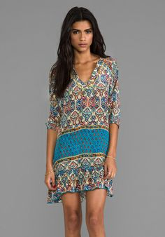 TOLANI ~ perfect vacation wear ~ would look cute with cropped boyfriend jeans and sandals