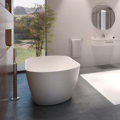 vrijstaand bad via mozaiek.com
