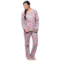 #BlackFriday2015 White Mark Women's Floral Print Flannel Pajama Set http://www.overstock.com/Clothing-Shoes/White-Mark-Womens-Floral-Print-Flannel-Pajama-Set/10573801/product.html?CID=245307