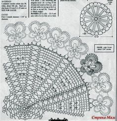 вязаная салфетка схема Easter Crochet, Crochet Doilies, Charts, Blog, Ideas, Tricot, Trapper Keeper, Princess, Mandalas