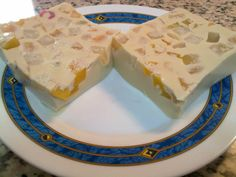Milk and Fruit dessert, traditional from Costa Rica.