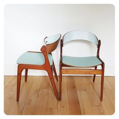 Paire de chaises scandinaves -