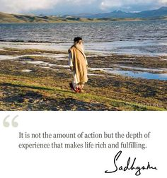 22nd Feb quote from Sadhguru