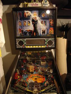 Addams Family Pinball Machine!