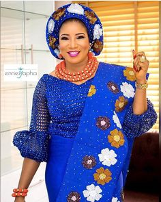 Gown lace is a type of fabrics wore more often among African women to ceremony or occasions. Here are the latest lace gown styles in town for stylish and most fashionable women. Nigerian Lace Styles, African Lace Styles, African Lace Dresses, African Dresses For Women, African Attire, African Fashion Dresses, African Wear, African Women, Lace Blouse Styles